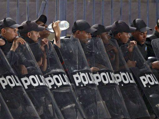 Чилийская полиция арестовала футболиста за приемы карате на поле