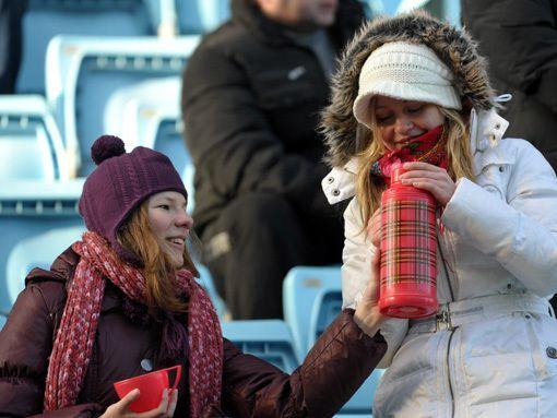 Чай икашу– болельщикам! Президент РФС поддержал нашу инициативу по раздаче чая болельщикам на зимних матчах