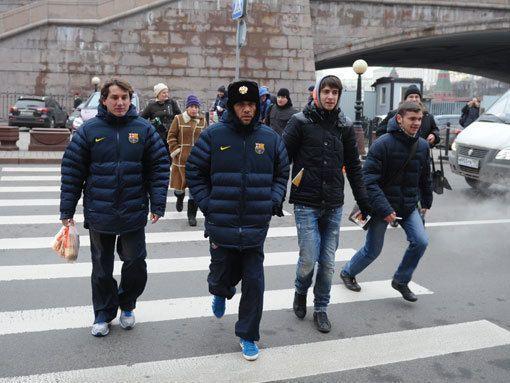 «Месси вгороде!» Москвичи прогуливали работу внадежде увидеть футболистов-волшебников