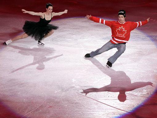 Олимпийские чемпионы Вирчу и Мойр вернулись в большой спорт