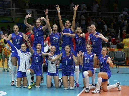 Российские волейболистки разгромили аргентинок на старте олимпийского турнира