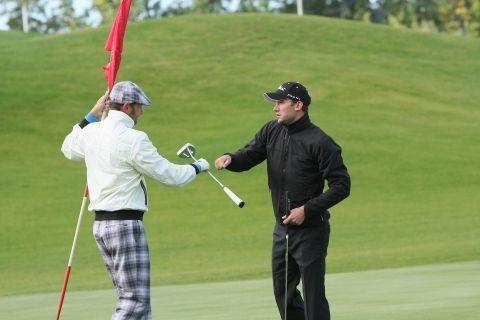 Андрей Шевченко выиграл турнир по гольфу