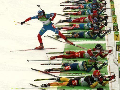 Бронзовый призер этапа кубка мира Антон Шипулин: Лыжи? Только водные!
