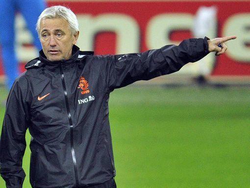 Ван Марвейк назвал расширенный состав сборной Голландии на Евро-2012