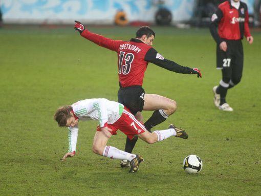 Дмитрий Аленичев уже усилил московский «Спартак» своей игрой