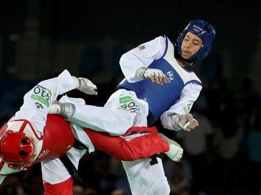 Денисенко завоевал серебряную медаль в турнире по тхэквондо на ОИ в Рио