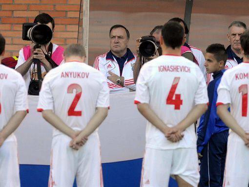Главный тренер сборной России Дик Адвокат: С Италией будет лучше!
