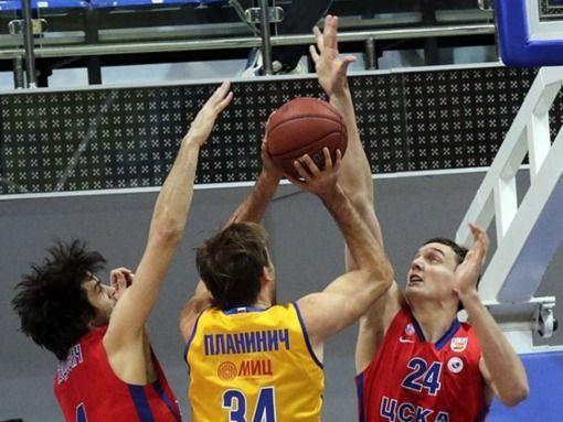 «Химки» обыграли ЦСКА в первом полуфинальном матче Единой Лиги ВТБ