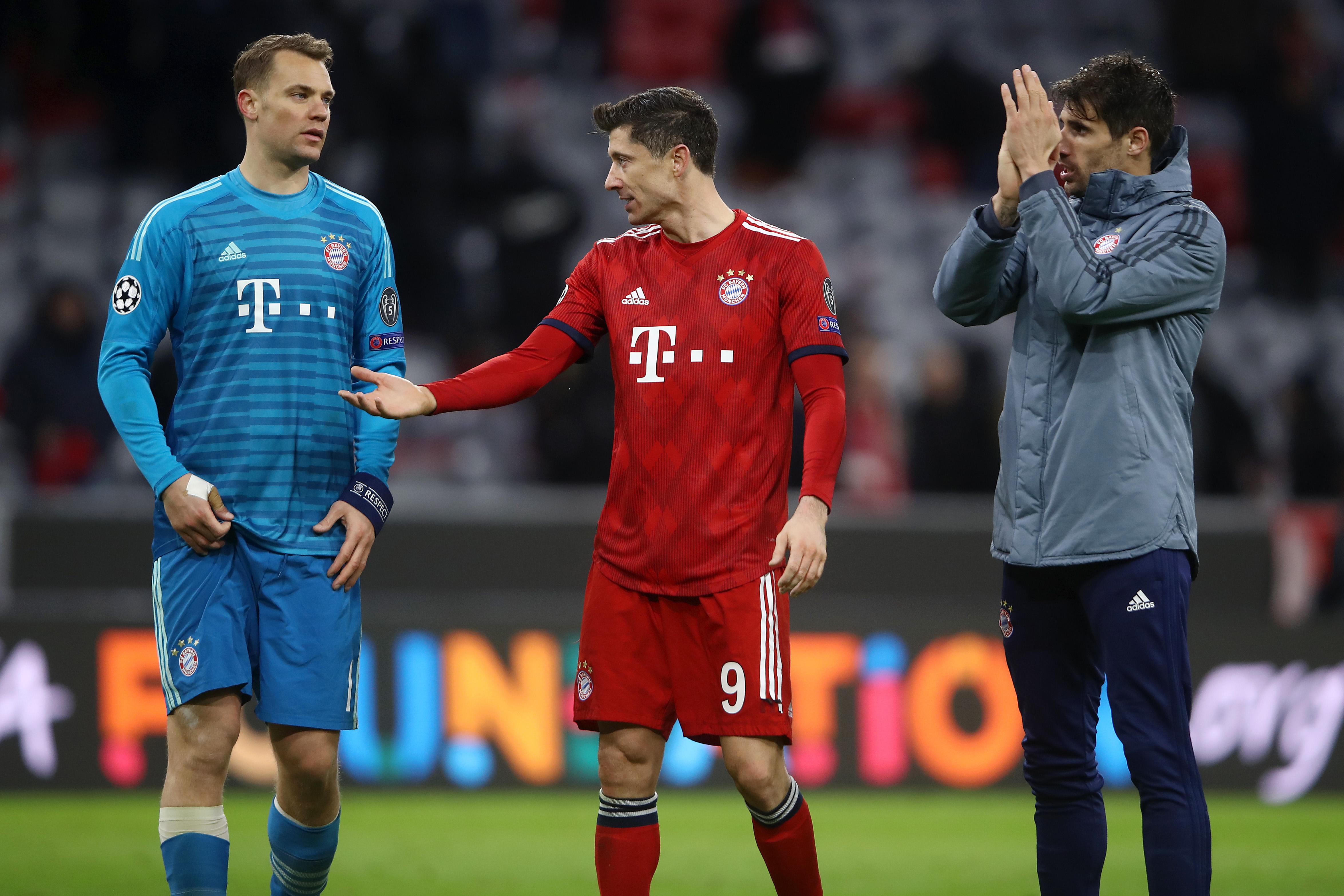 Немецкая футбольная бундеслига в лигу чемпионов