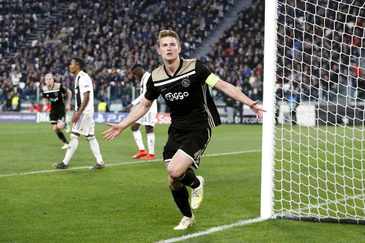 Гол де Лигта принес «Аяксу» волевую победу над «Ювентусом» и вывел в полуфинал Лиги чемпионов
