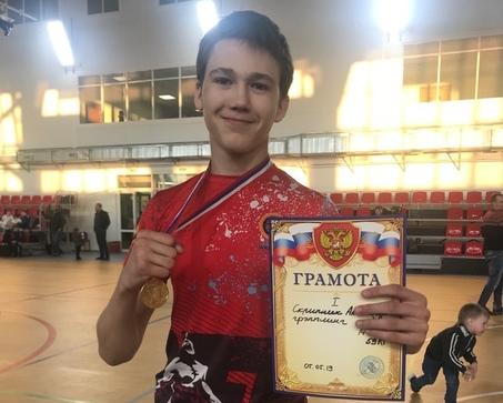 Александр Скрипник – победитель первенства СЗФО РФ по спортивной борьбе