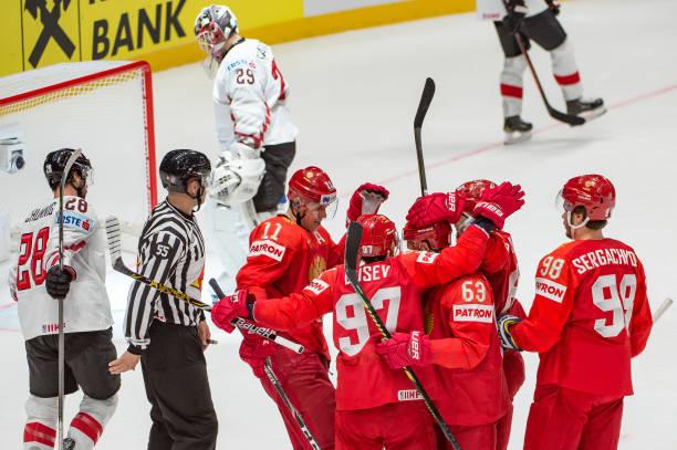 Сборная России разгромила Австрию на чемпионате мира