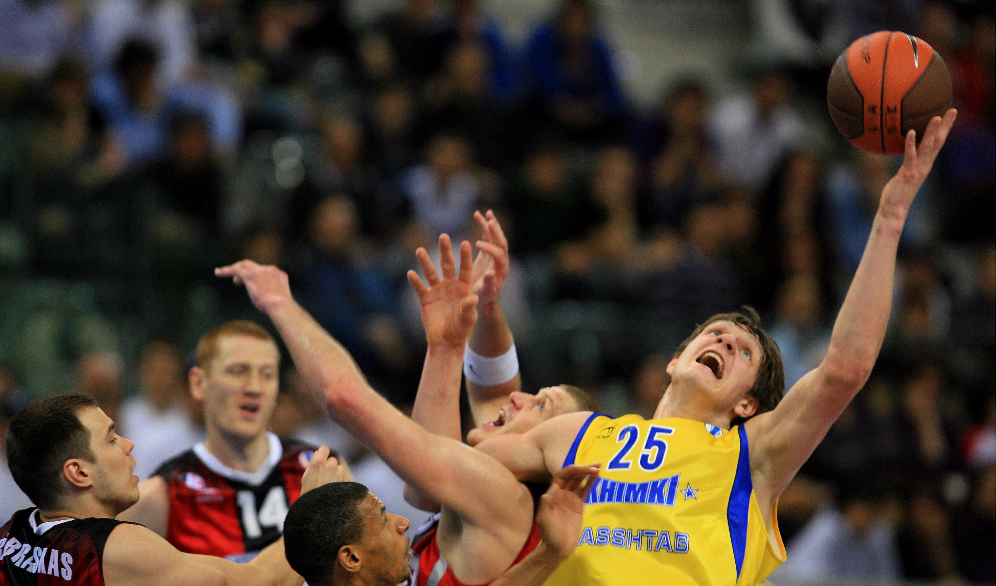 Мозгов возвращается в «Химки». В Россию впервые приедет чемпион НБА