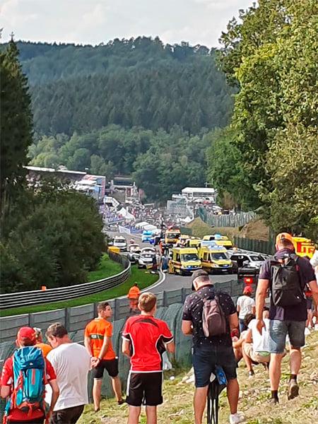 Смерть на трассе в Спа. Этап «Формулы-2» в рамках Гран-при Бельгии завершился трагедией