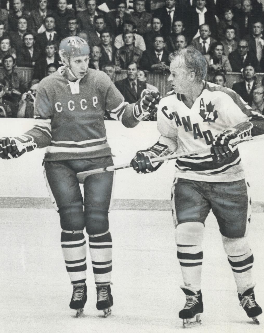 «Вы играли в красивый хоккей, А мы жестко». Суперсерии-74 – 45 лет