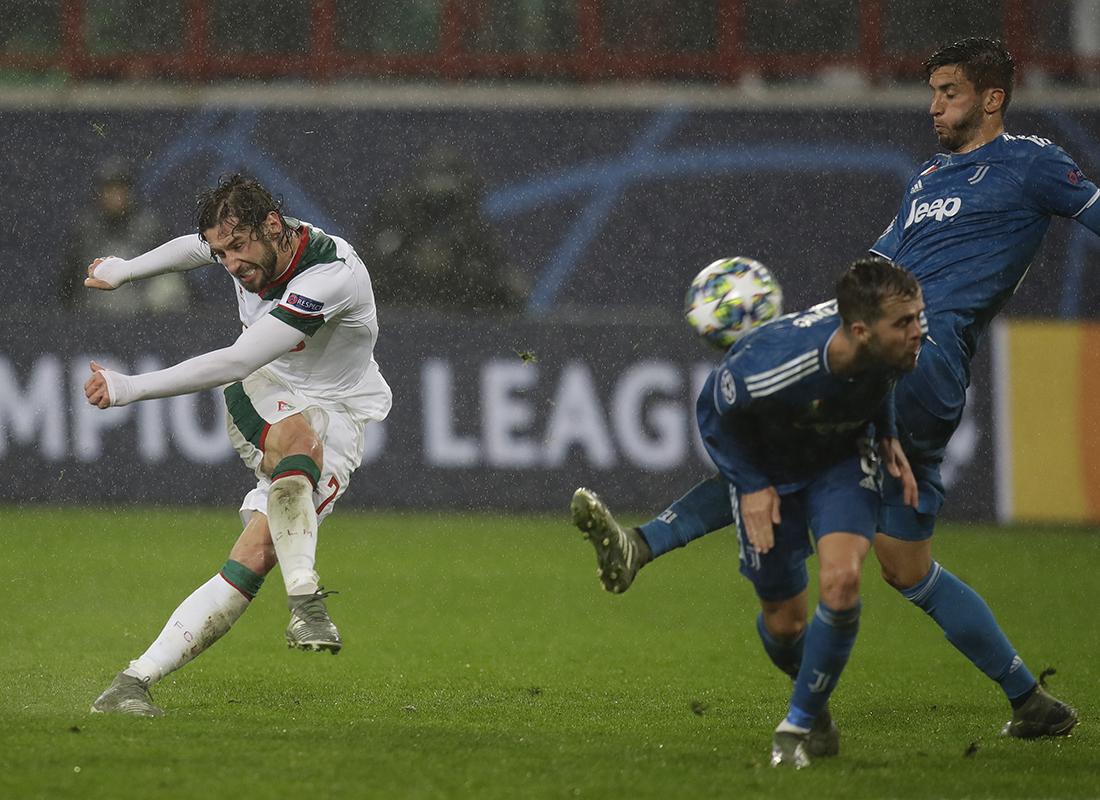 Роналду почти забил, «Локомотив» почти не проиграл