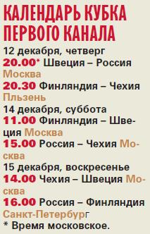 Все сильнейшие в сборе. Объявлен состав российской команды на Кубок Первого канала