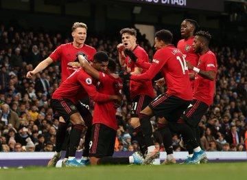 «Манчестер Сити» на своем поле проиграл «Манчестер Юнайтед»