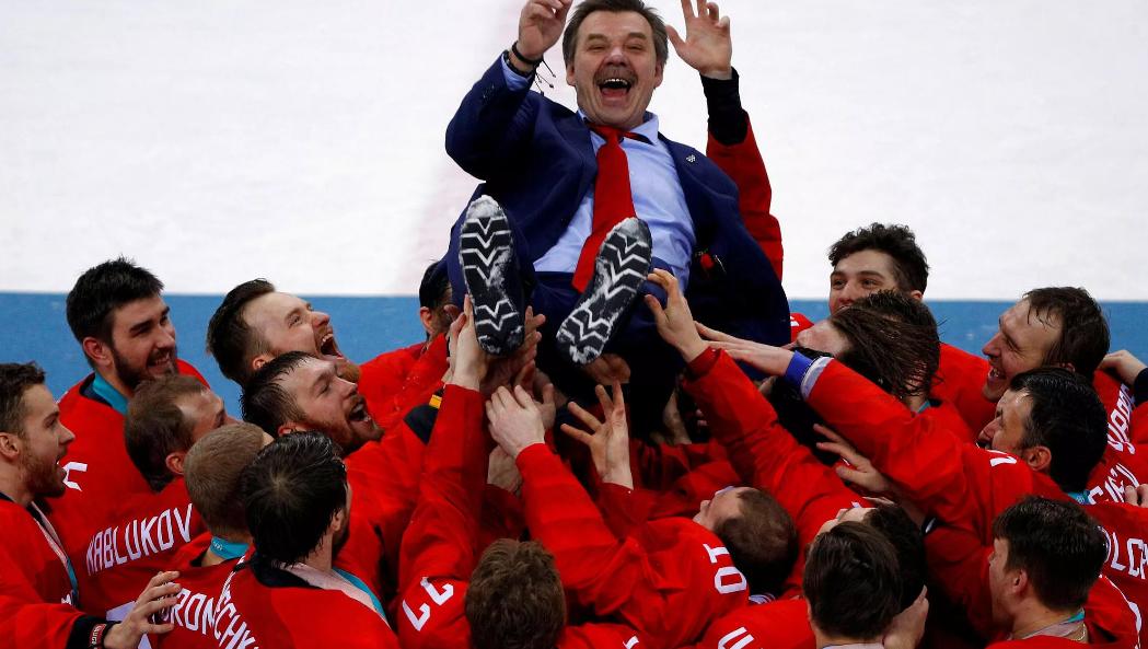 Продолжаем «дрючить немцев»? Зачем «Матч ТВ» покажет 9 мая хоккейный финал Олимпиады-2018