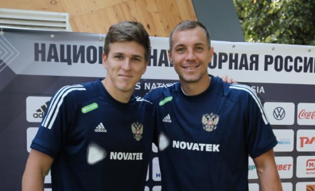 Дзюба уже фотографируется с Соболевым, а «Краснодар» и «Динамо» узнали соперников по еврокубкам