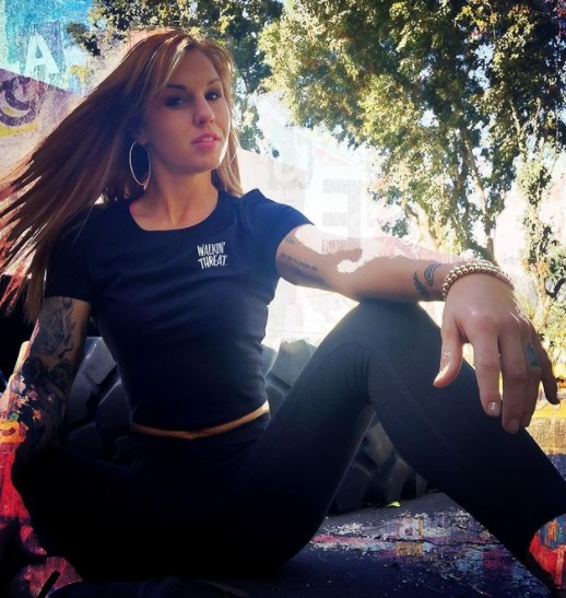 Девушка дня. Бритен Харт — восходящая звезда кулачных боев