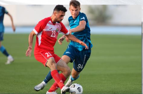Гол Дзюбы принес «Зениту» минимальную победу над сборной Иордании