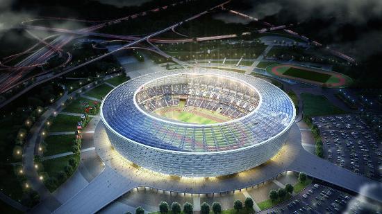 Самая восточная точка Евро-2020. «ОЛИМПИЙСКИЙ СТАДИОН», Баку