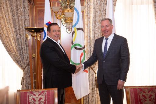 ОКР и Национальный олимпийский комитет Армении заключили Меморандум о сотрудничестве