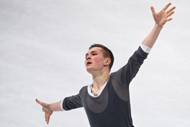 Коляда стал третьим в произвольной программе на командном чемпионате мира, Семененко - пятый