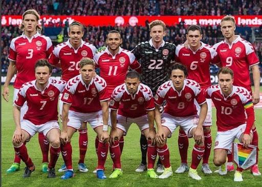 Главные конкуренты России в группе. Сборная Дании