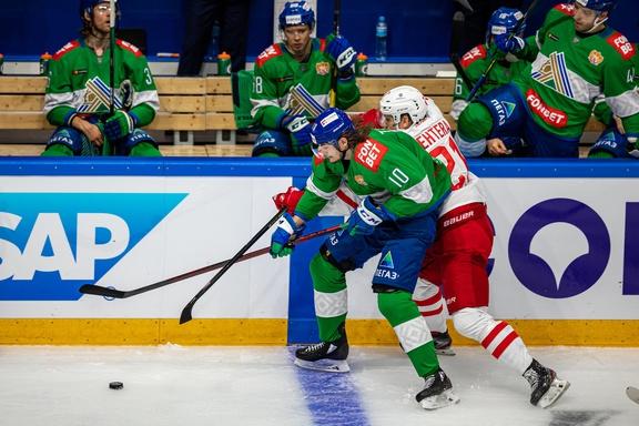 «Спартак» уступил «Салавату Юлаеву» в Уфе, потерпев первое поражение в сезоне (видео)