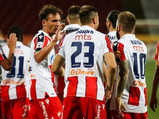 «Црвена Звезда» взяла верх над «Брагой» в домашнем матче Лиги Европы